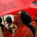 des travailleurs du sexe font fuir le délégué américain - Sida/conférence